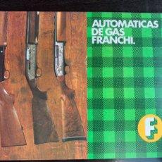 Catálogos publicitarios: ANTIGUO CATALOGO DE ARMAS ESCOPETAS FRANCHI-LLAMA. Lote 213776686