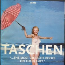 Catálogos publicitarios: CATÁLOGO TASCHEN FALL 2002 – MARILYN, LENI RIEFENSTAHL, CULTURISMO FEMENINO.... Lote 213920436