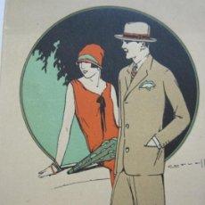 Cataloghi pubblicitari: BARCELONA-SASTRERIA TUSET-ILUSTRADO POR CERVELLO-VERANO 1927-PUBLICIDAD-VER FOTOS-(V-21.737). Lote 214763190