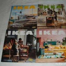 Catálogos publicitarios: 4 CATÁLOGOS DE IKEA CORRESPONDIENTES A LOS AÑOS 2015, 2016, 2017 Y 2018. Lote 214930951