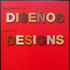 Catálogos publicitarios: MUESTRARIO DE DISEÑOS / RANGE OF DESIGNS – FINSA, 2000 – MADERA, MELAMINA. Lote 215396355