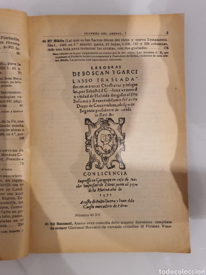 Catálogos publicitarios: LIBRERIA DE LOS BIBLIÓFILOS ESPAÑOLES -GABRIEL MOLINA- - Foto 2 - 215682377