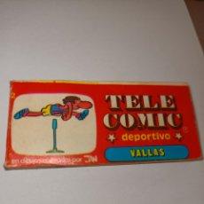Catálogos publicitarios: TELECOMIC DEPORTIVO VALLAS. Lote 216483450