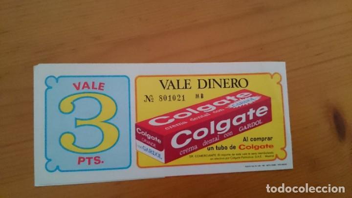Catálogos publicitarios: PUBLICIDAD COLGATE CON GARDOL - VALE DE 3 PESETAS - DOBLE HOJA - AÑO 1969 - Foto 3 - 216495150