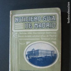 Cataloghi pubblicitari: NOTICIERO GUIA DE MADRID-CATALOGO PUBLICIDAD CON FOTOS Y MAPA-VER FOTOS-(G-1). Lote 216510030
