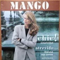 Catálogos publicitarios: CATÁLOGO MANGO CLAUDIA SCHIFFER. Lote 217952140