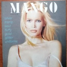 Catálogos publicitarios: CATÁLOGO MANGO CLAUDIA SCHIFFER. Lote 217952532
