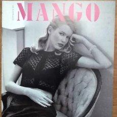 Catálogos publicitarios: CATÁLOGO MANGO CLAUDIA SCHIFFER. Lote 217952577
