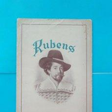 Catálogos publicitarios: ANTIGUO MUESTRARIO RUBENS COLORES AL OLEO PARA ARTISTAS, ANDRÉS PESCADOR FÁBRICA DE PINTURAS. Lote 218051883