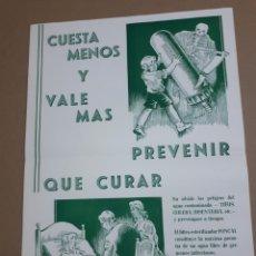 Catalogues publicitaires: FOLLETO LABORATORIO FONCAL EN ZARAGOZA. Lote 218874172