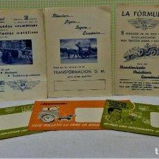 Catálogos publicitarios: LOTE 3 SOBRES Y PUBLICIDAD PARA ENVIAR,DE GARAGE MARTÍ S.A.,VILAFRANCA DEL PANADÉS.. Lote 220094538