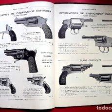 Catálogos publicitarios: ARMAS - CATALOGO BERISTAIN Y CIA. - 1916 - EIBAR. Lote 220250743