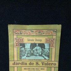Catálogos publicitarios: ANTIGUO CATALOGO Y PRECIOS DE JARDIN DE S. VALERO - VALENCIA. Lote 220580186