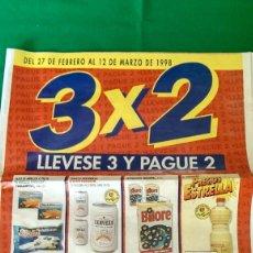 Catálogos publicitarios: ANTIGUO FOLLETO OFERTAS SUPERMERCADO CONTINENTE. Lote 221607422