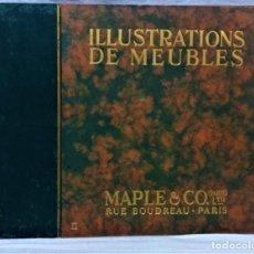 Catálogos publicitarios: ANTIGUO CATÁLOGO ILLUSTRATIONS DE MEUBLES.MAPLE & CO.PARÍS.MUEBLES DE COMEDOR.1A MITAD S.XX. Lote 221924698