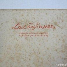 Catálogos publicitarios: LA CONFIANZA-SOCIEDAD DE MAESTROS SASTRES-CATALOGO PUBLICIDAD MODA-AÑO 1928-VER FOTOS-(K-796). Lote 221950365