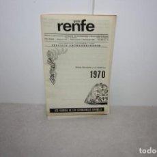 Catálogos publicitarios: GUÍA DE RENFE AÑO 1970.. Lote 222221891
