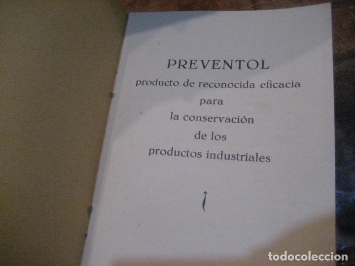 Catálogos publicitarios: catalogo preventol . producto para la conservacion de los productos industriales . anti hongos - Foto 2 - 222266297