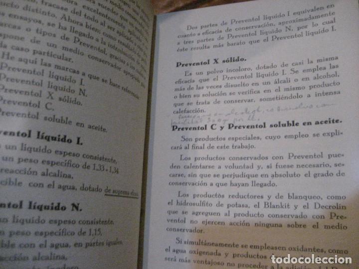 Catálogos publicitarios: catalogo preventol . producto para la conservacion de los productos industriales . anti hongos - Foto 4 - 222266297