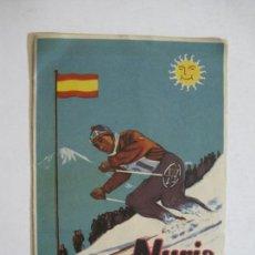 Cataloghi pubblicitari: ESQUI-NURIA-CATALOGO PUBLICIDAD-VER FOTOS-(K-866). Lote 223145183
