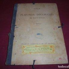Catálogos publicitarios: CATALOGO DE PLAFONES DECORATIVOS SIGLO XIX OBRAS CIENTIFICAS Y ARTISTICAS SUCESOR DE J.M.FABRE. Lote 223352112