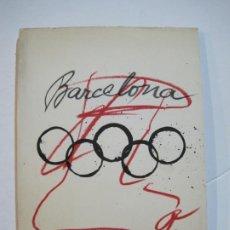 Catálogos publicitarios: BARCELONA 92-JUEGOS OLIMPICOS-TAPIAS-LIBRO CATALOGO CON PEGATINAS,POSTALES...-VER FOTOS-V-22.370. Lote 223507131