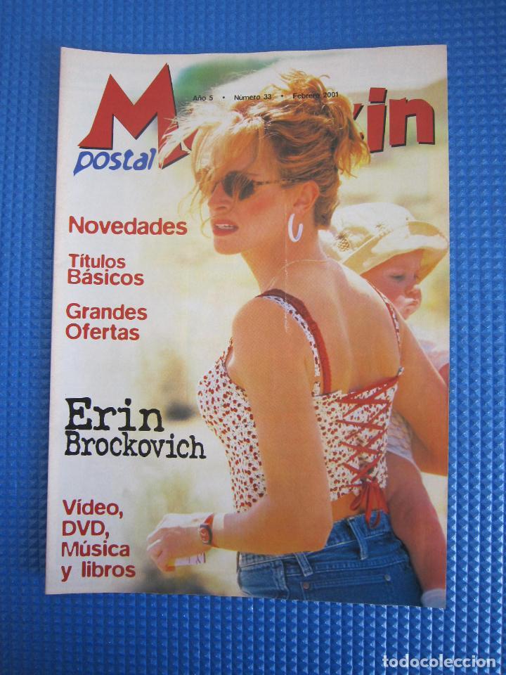 CATÁLOGO - MAGAZIN POSTAL Nº 33 - FEBRERO 2001 (Coleccionismo - Catálogos Publicitarios)