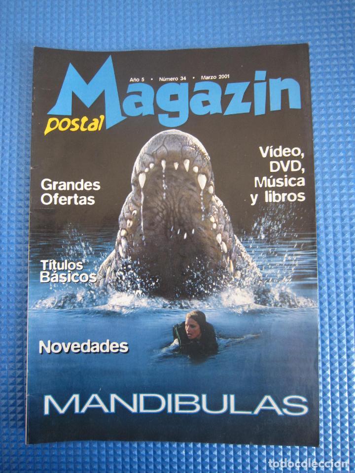 CATÁLOGO - MAGAZIN POSTAL Nº 34 - MARZO 2001 (Coleccionismo - Catálogos Publicitarios)