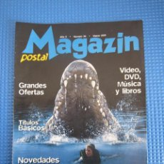 Catálogos publicitarios: CATÁLOGO - MAGAZIN POSTAL Nº 34 - MARZO 2001. Lote 225028230