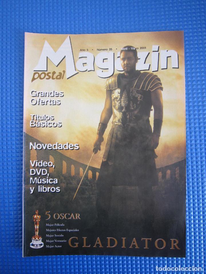 CATÁLOGO - MAGAZIN POSTAL Nº 35 - ABRIL / MAYO 2001 (Coleccionismo - Catálogos Publicitarios)