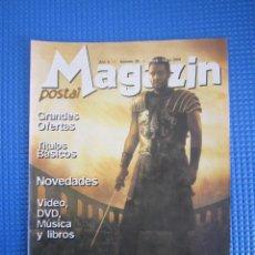 Catálogos publicitarios: CATÁLOGO - MAGAZIN POSTAL Nº 35 - ABRIL / MAYO 2001. Lote 225032190