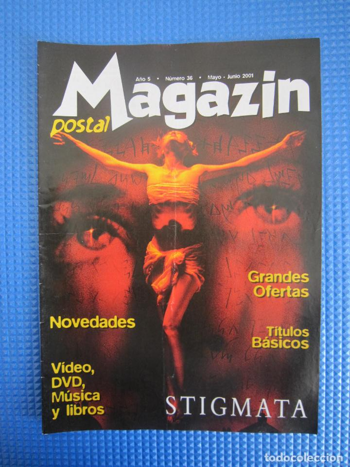 CATÁLOGO - MAGAZIN POSTAL Nº 36 - MAYO / JUNIO 2001 (Coleccionismo - Catálogos Publicitarios)