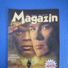 Catálogos publicitarios: CATÁLOGO - MAGAZIN POSTAL Nº 38 - JULIO / AGOSTO 2001. Lote 225033650