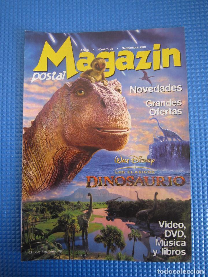 CATÁLOGO - MAGAZIN POSTAL Nº 39 - SEPTIEMBRE 2001 (Coleccionismo - Catálogos Publicitarios)