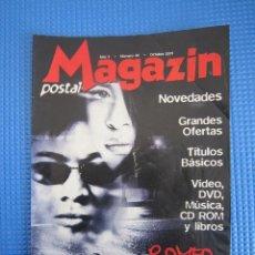 Catálogos publicitarios: CATÁLOGO - MAGAZIN POSTAL Nº 40 - OCTUBRE 2001. Lote 225034910