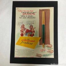 Catálogos publicitarios: EVERSHARP, PUBLICIDAD ORIGINAL DE 1953. Lote 226455216