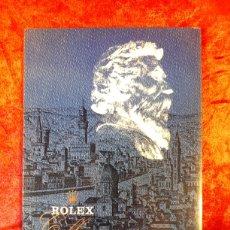 Catálogos publicitarios: CATÁLOGO FOLLETO DE RELOJES. ROLEX CELLINI, DE LOS AÑOS 70.. Lote 228580185