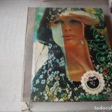 Catálogos publicitarios: CATALOGO DE MUESTRAS DE TELA Y MUCHAS FOTOGRAFIAS AÑO 1974. Lote 228688150