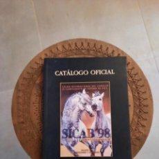 Catálogos publicitarios: CATALOGO SICAB 98. Lote 229005920