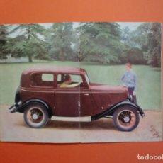 Catálogos publicitarios: CATALOGO PRESENTACION FORD 8 H P 1934. Lote 230098815