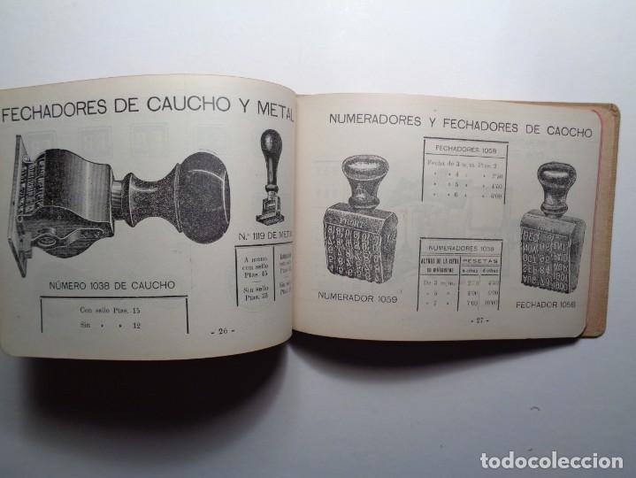 Catálogos publicitarios: AMBROSIO ALLADO-SELLOS-GRABADOS-MARCAS - Foto 9 - 261903795