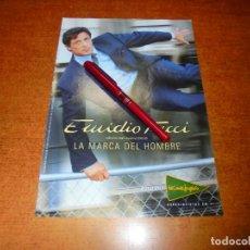 Catálogos publicitarios: PUBLICIDAD 2000: EMIDIO TUCCI, CON SILVESTER STALLONE.. Lote 233467700