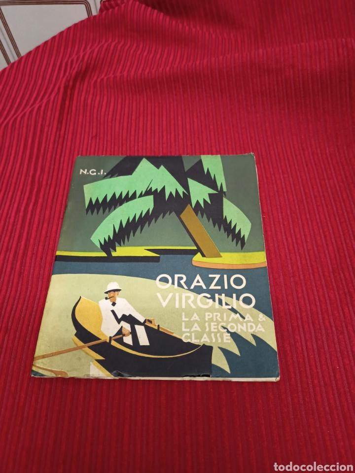 Catálogos publicitarios: Muy interesante folleto.Orazio Virgilio La primera y segunda clase - Foto 2 - 233629695