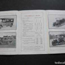 Catálogos publicitarios: LOS OMNIBUS HISPANO SUIZA-AÑO 1914-CATALOGO PUBLICIDAD COCHES-VER FOTOS-(K-1611). Lote 233743945