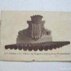 Catálogos publicitarios: E.F. WALCKER Y Cª-FABRICA DE ORGANOS (INSTRUMENTO)-CATALOGO PUBLICIDAD-VER FOTOS-(K-1625). Lote 233752625