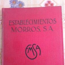 Catálogos publicitarios: CATÁLOGO PUBLICITARIO ETNOGRÁFICO MAQUINARIA AGRÍCOLA, COSECHADORAS, MOLINOS, ETC MORROS S.A. Lote 234522060