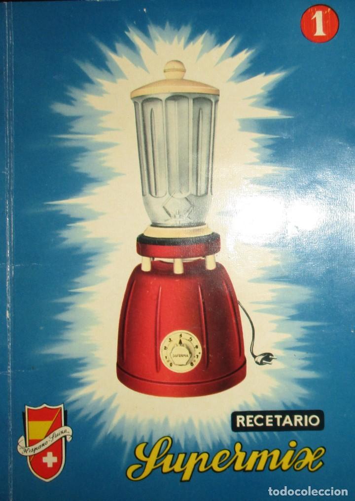 Catálogos publicitarios: BATIDORAS Y COCTELERA HISPANO-SUIZA. SEIS FOLLETOS Y RECETARIOS ORIGINALES DE LOS AÑOS 50. - Foto 14 - 234727150