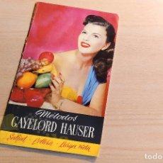 Catálogos publicitarios: MÉTODOS GAYELORD HAUSER. Lote 234731385