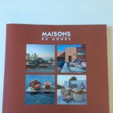 Catálogos publicitarios: MAISONS DU MONDE CATALOGO OUTDOOR 2020 120 PÁGINAS DECORACION. Lote 235430540
