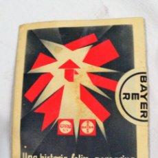 Catálogos publicitarios: ANTIGUO FOLLETO PUBLICIDAD ASPIRINA BAYER CON ROMPECABEZAS. Lote 235720065
